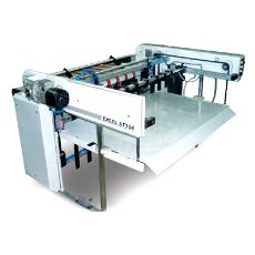 Auto Sheet Stacker With Pneumatic Side Jogger