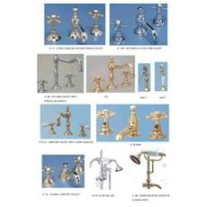 Intricately Designed Metal Faucet