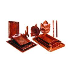 Smooth Finished Intricately Designed Giftware Tray