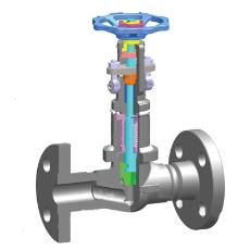 Forged Bellow Seal Globe Valve