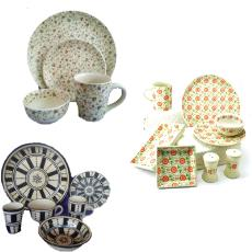 Printed Type Smooth Finished Tableware