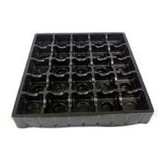 Plastic Made Black Coloured Tray