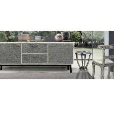Metal Cladded Cabinet Furniture