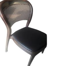 Mesh Back Chair With Cushioned Seat